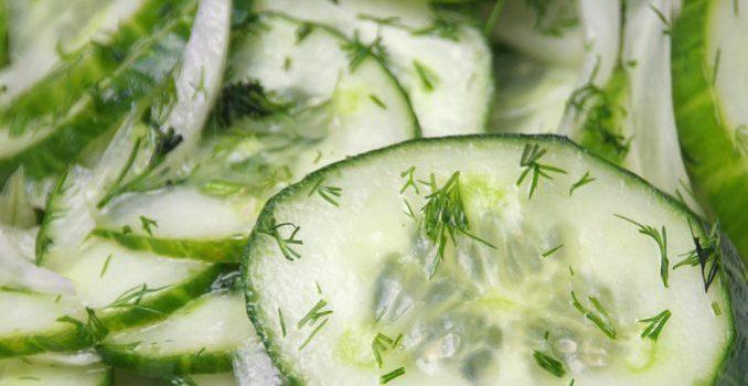 HEALTHY RECIPE: Cucumber Salad