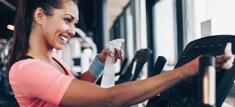 Reducing Germs at the GYM