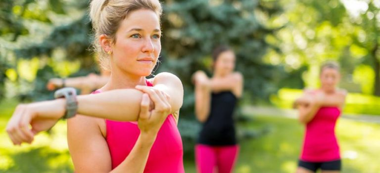 Get Back to Exercise with Woman's Fit Mama Bootcamp