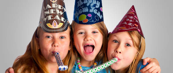 Helping Your Children with New Year's Resolutions