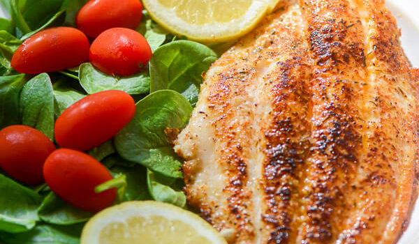 Healthy Blackened Fish Recipe for Lent