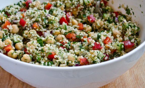 What to Eat During Cancer Treatment: Bulgur Salad and Dried Fruit