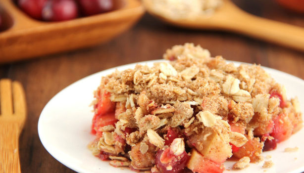 Cranberry-Apple Crumble Recipe