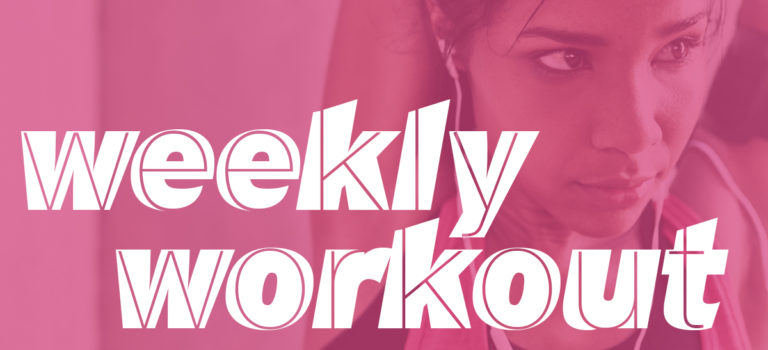 Weekly Workout: Lunges