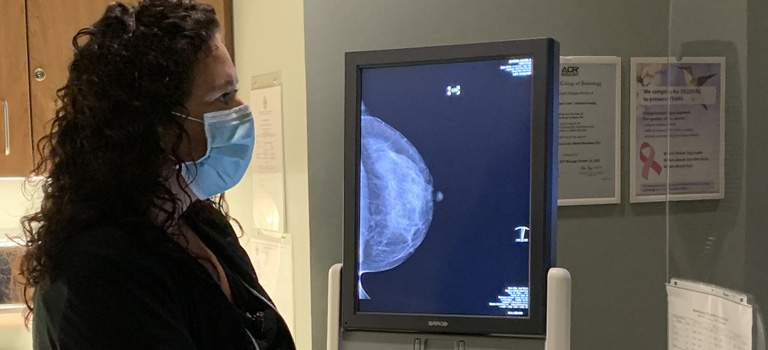 Screening mammogram in a COVID-19 world
